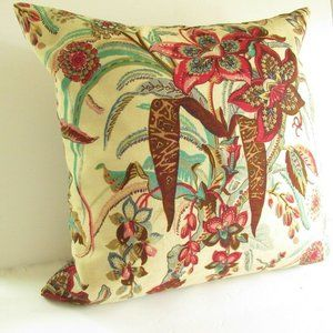 Pottery Barn Pillow Insert Cover Floral Palampore